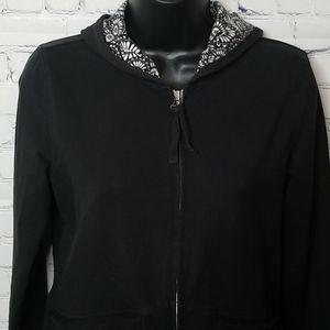 Ann Taylor Loft full zip hoodie